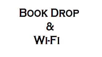 book drop and wi-fi