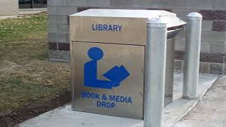 Library bookdrop